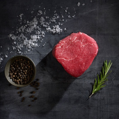 Black Angus Aberdeen steak
